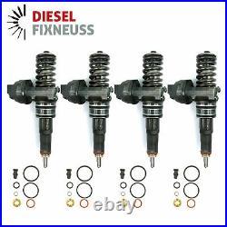 4x Bosch Buse Pompe Élément Injecteur VW 2.0 Tdi 0414720229 038130073BJ