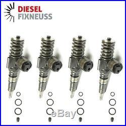 4x Injecteur VW 03G130073G 0414720404 Audi Seat Gicleur de la Pompe 2,0 TDI GX