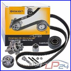 Contitech Kit De Distribution + Pompe Eau Seat Leon 1p 05- Altea 5p 2.0 Tdi