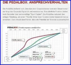 DTE Système Pedal Box 3S pour VW Tiguan 5N à partir de 2008 2.0 Tdi FAP R4 125KW