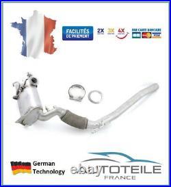 Filtre à particules (FAP) AUDI, SEAT, SKODA, VOLKSWAGEN, moteur 1.6TDI, 2.0TDI
