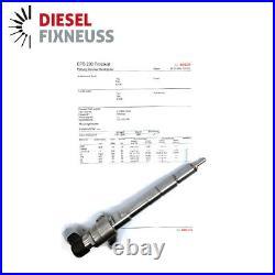 Injecteur Injection 03L130277B Audi Seat Skoda VW 1.6 TDI CAYA CAYB Siemens 1598