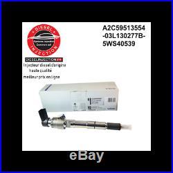 Injecteur Siemens VDO 03L130277B Diesel 1.6 TDI pour Audi/Seat/Volkswagen