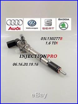 Injecteurs 1.6 tdi siemens 03l130277B Volkswagen, audi, seat, skoda