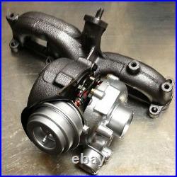 Original-Turbolader Garrett pour Audi 1.9 TDI 8L1 100 PS Ford 1.9 TDi WGR 115 CV