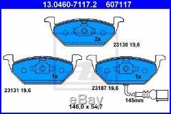 Plaquettes de Frein Kit et Disques avant ATE Audi A3 1.9 Tdi 77KW N° P 1ZF 1ZM