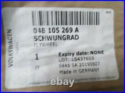 Véritable VW Polo Audi A1 Seat Ibiza Rapide 1.4 Tdi Volant Moteur Luk 04B105269A